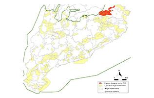 Mapa de zones especials de conservació de la regió biogeogràfica